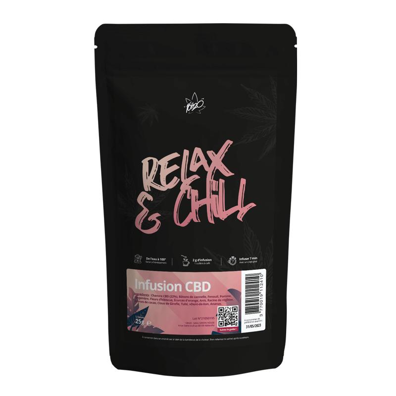 Acheter Infusion chanvre Relax & Chill 16h20 en ligne