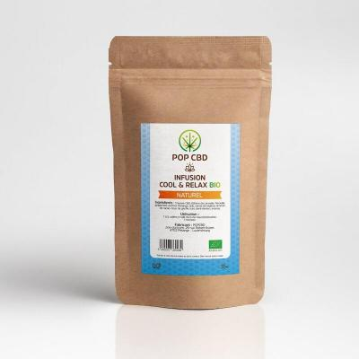 Infusion chanvre Cool & Relax - Pop CBD - 35g